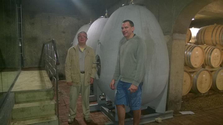 Glen Carlou Wine Cellar Tour