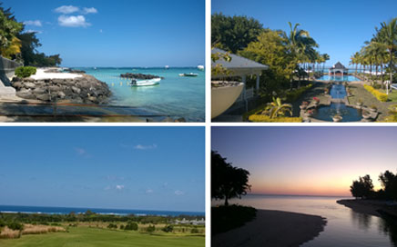 A holiday in Mauritius