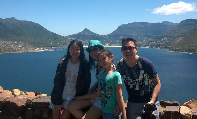 Lovely views from Chapman's Peak